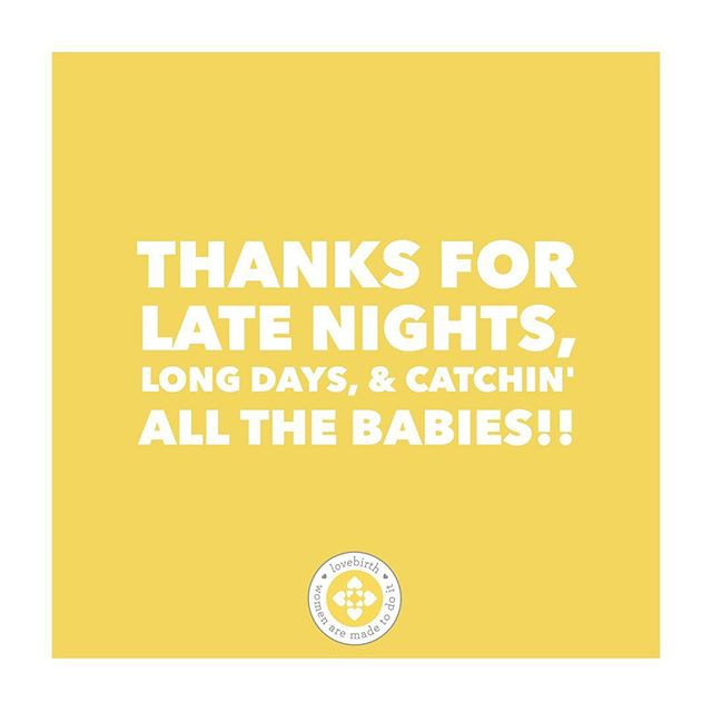Happy International Day of the Midwife to all the rock star baby catchers makin' birth dreams come true!! . Show your love and tag your midwife below! 💛 . . . . . #teenbirth #allfamiliesmatter #baby #babymama #birthmatters #fullsprectrumdoula #abortiondoula #birthdoula #doula #tampadoula #brandondoula #teenpregnancy #pregnancy #placenta #parenthood #motherhood #pregnancyloss #LGBTQ #mothersofcolor #WOC #birth #naturalbirth #childbirtheducation #tampamom #tampadoula