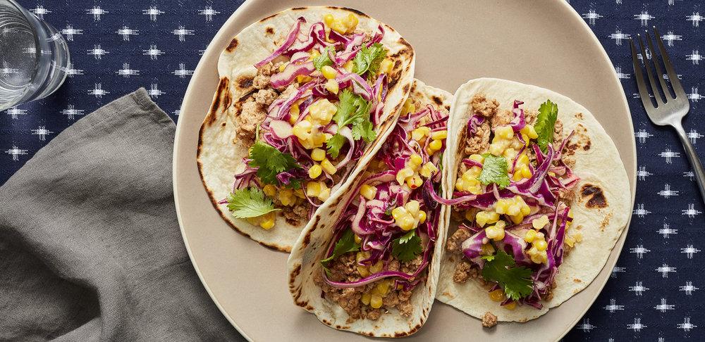 Hoisin Pork Tacos with Miso Corn and Cabbage Cilantro Slaw —0191 — HERO.jpg