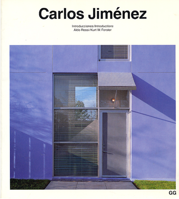 GG, Carlos Jiménez - Rossi, Aldo, Forster, Kurt W.,