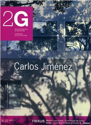 2G, Carlos Jiménez - Fernandez-Galiano, Luis; Bell, Michael,