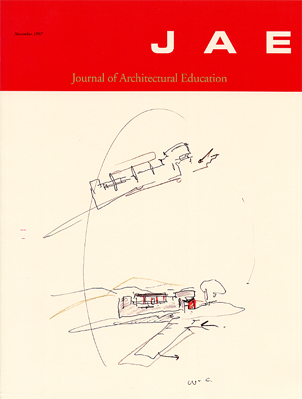 Carlos Jiménez - Journal of Architectural Education, Washington D.C., November, 1997
