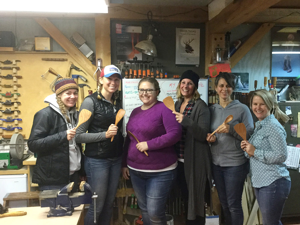 spoon carving workshop-private group classes (Oct 2017).jpg