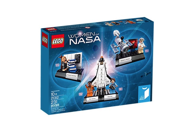 Lego Women of NASA : Inspire them with the lives of four pioneering women of NASA - an astronomer, a computer scientist, an astronaut and physicist. Includes blocks for building a hubble Space Telescope and a Space Shuttle Challenger.