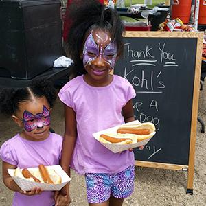 Facepainted_sisters_outside_Hotdogs.jpg