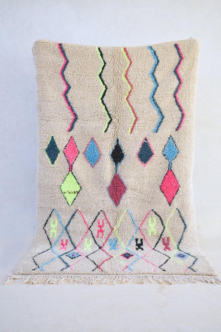 Boucherouite Moroccan Rug