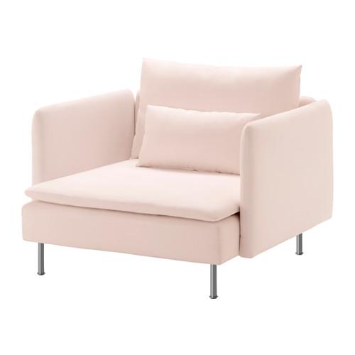 blush pink chair