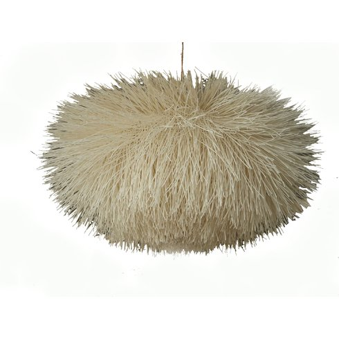 rattan urchin light