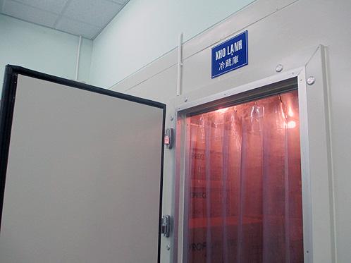 Armazenamento do carbono (matéria prima) em sistema de refrigeração.
