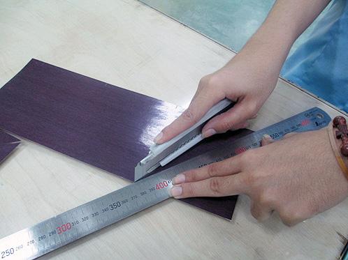 Corte do carbono segundo os padrões do produto a ser realizado