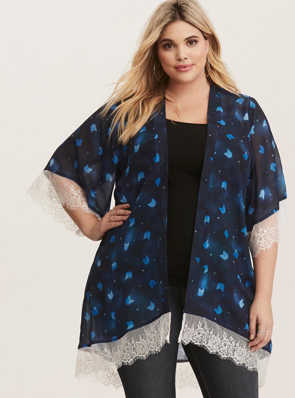Kimono. Photo credit: Torrid