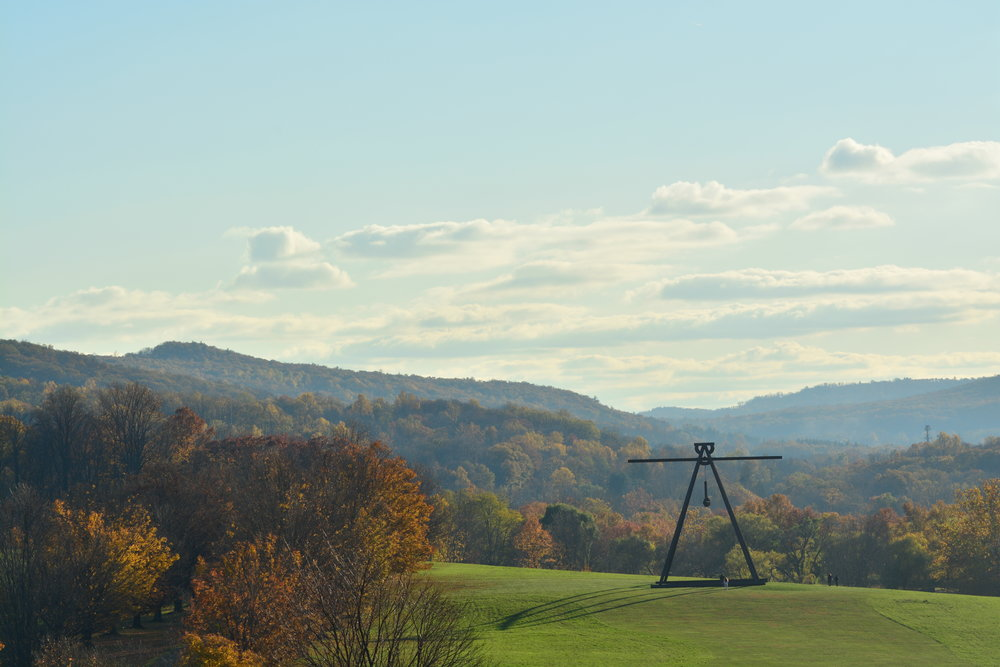 Hail the Great Owl (Pyramidian by Mark di Suvero)