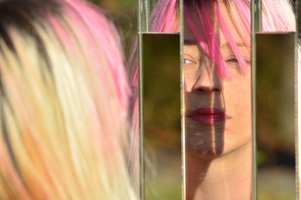 MirRio Fence (Mirror Fence by Alyson Shotz)
