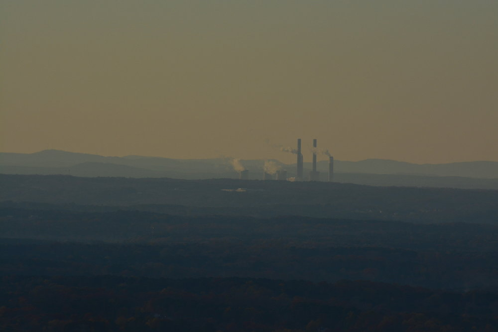View North from the top of Kennesaw Mountain