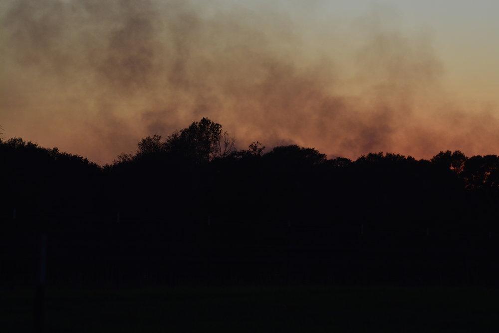Smokey Sunset