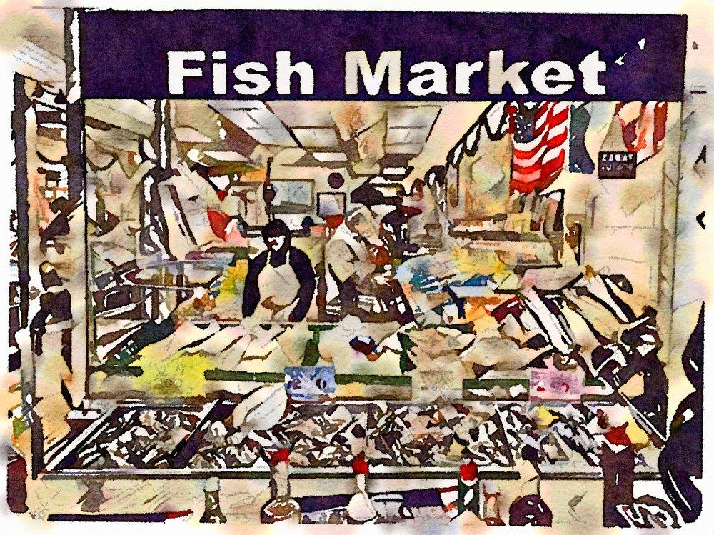 Cosenza's Fish Market, Arthur Ave.
