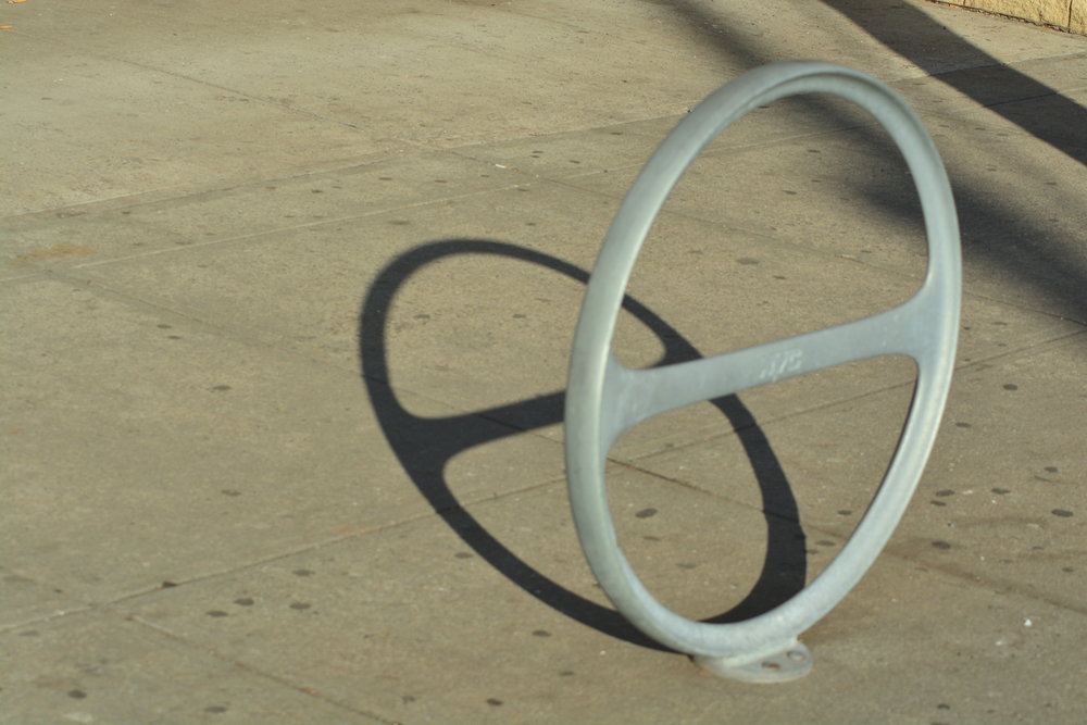 Bike Rack Shadow