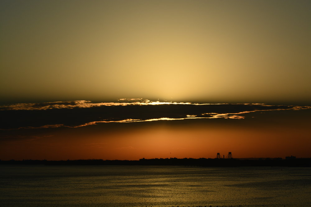 Sunset // Jamaica Bay // Verrazano Bridge