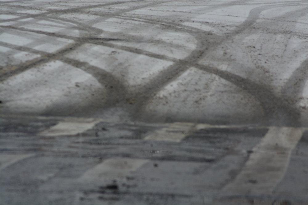 Tire Tracks on Broadway & w238th