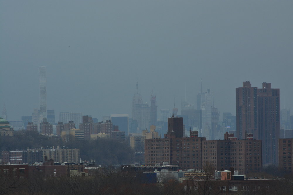 Manhattan Skyline from on top of the Rock in VCP