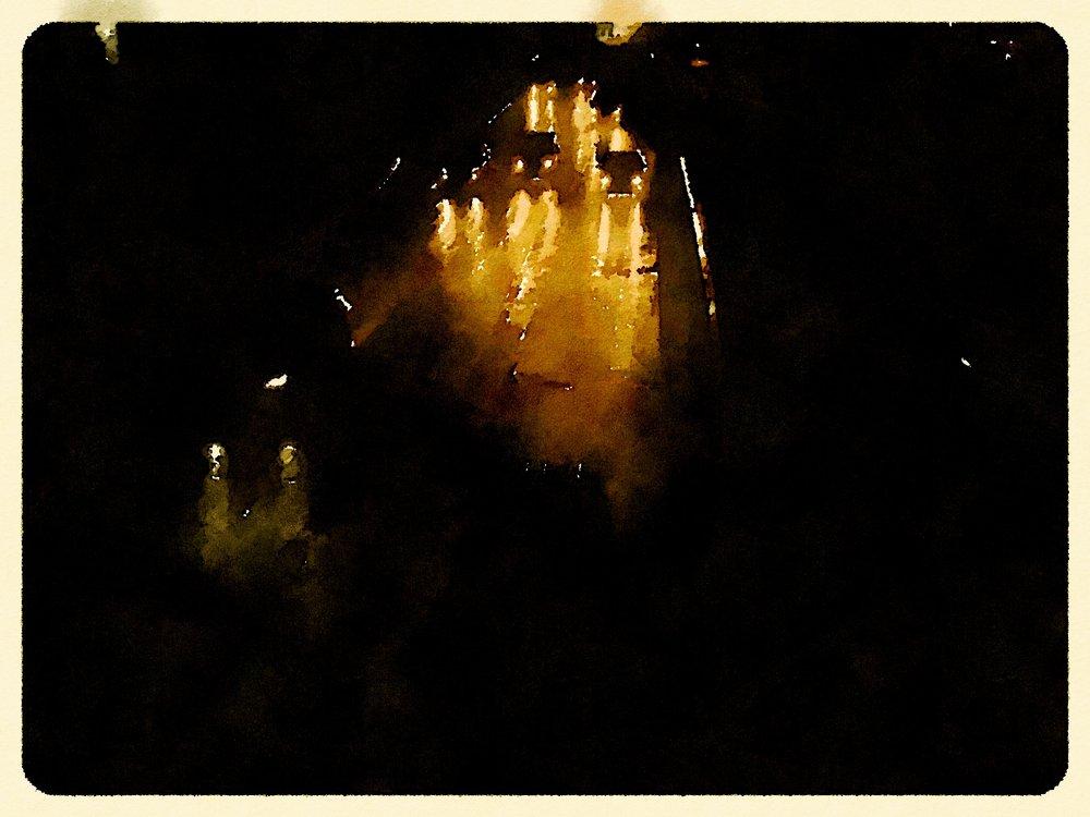 Rainy Night on I87