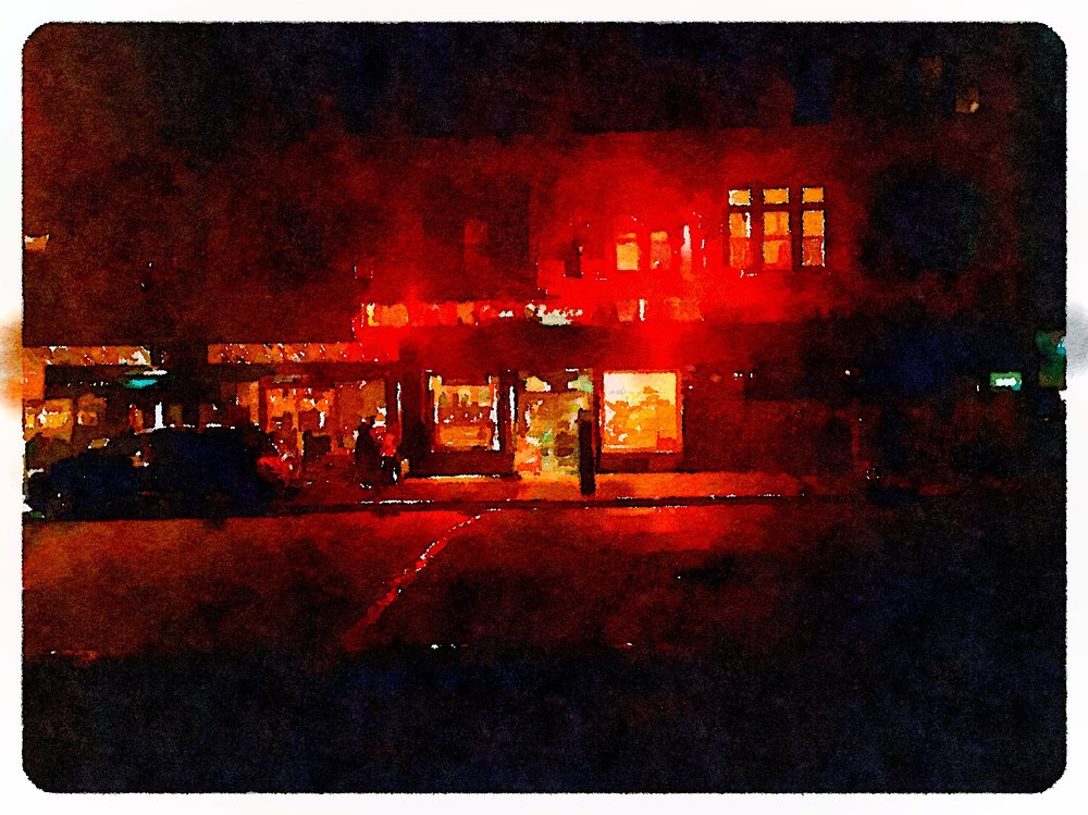 Foggy Night Liquor Store