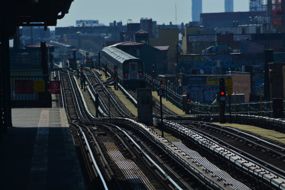 7 Train towards Manhattan
