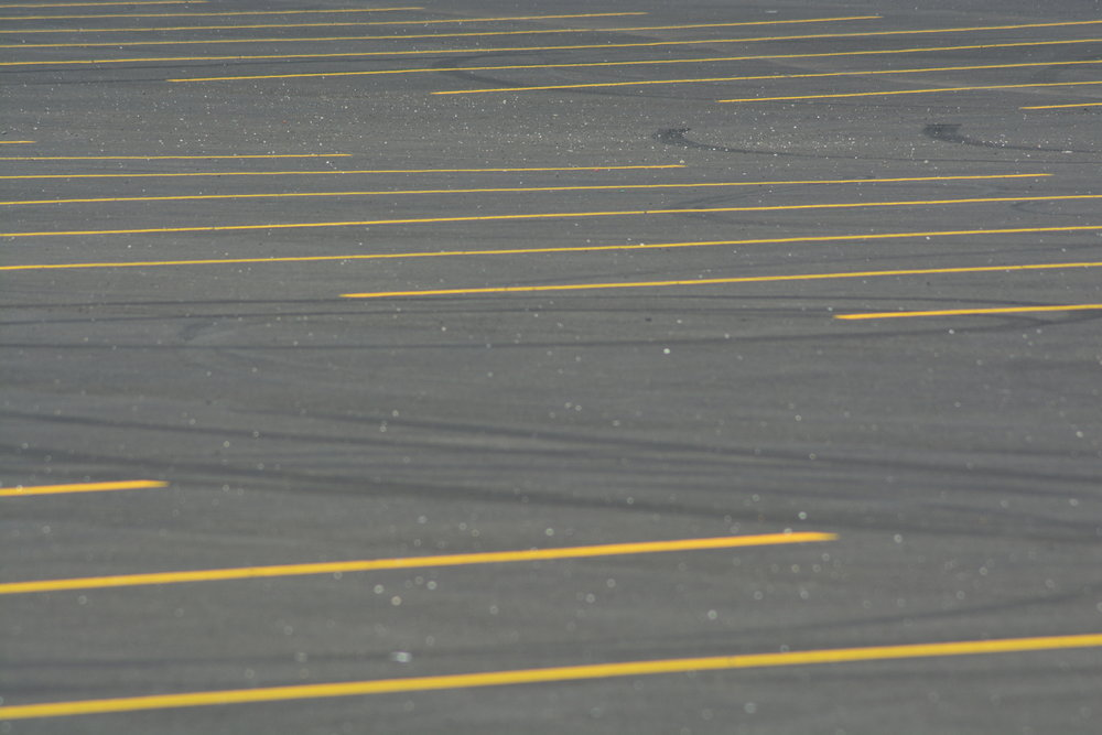 Brand New Parking Spaces