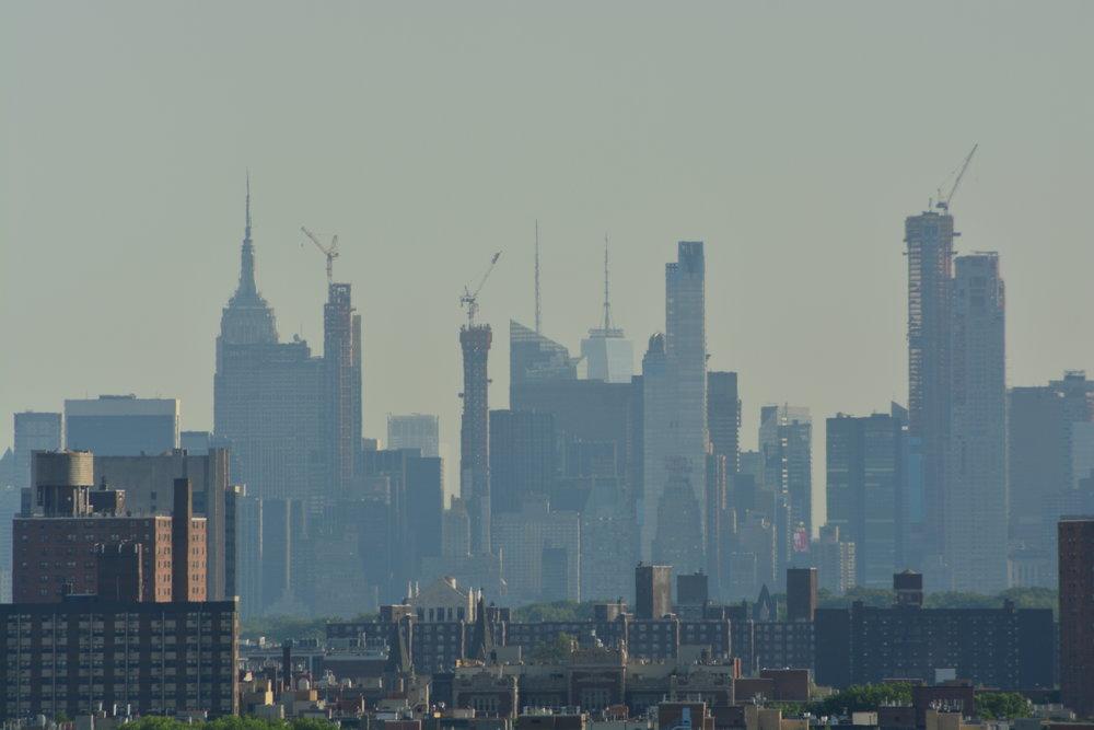 NYC Skyline from the High Bridge