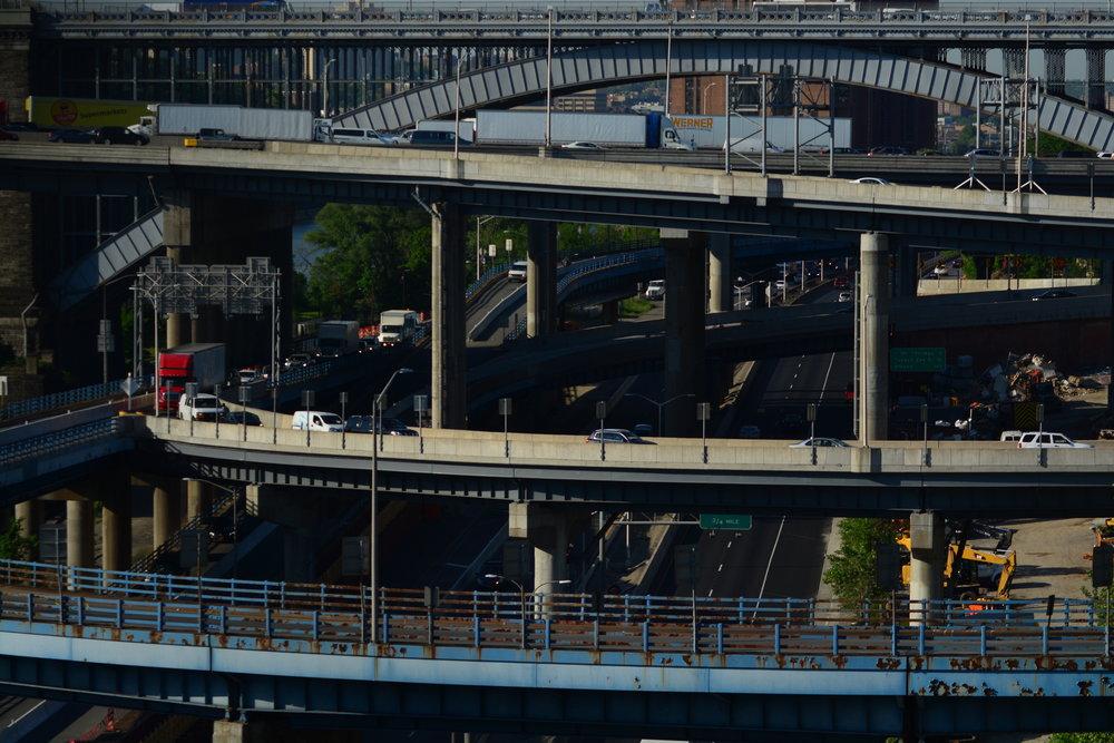 I87 Major Deegan // I95 Cross Bronx Expressway