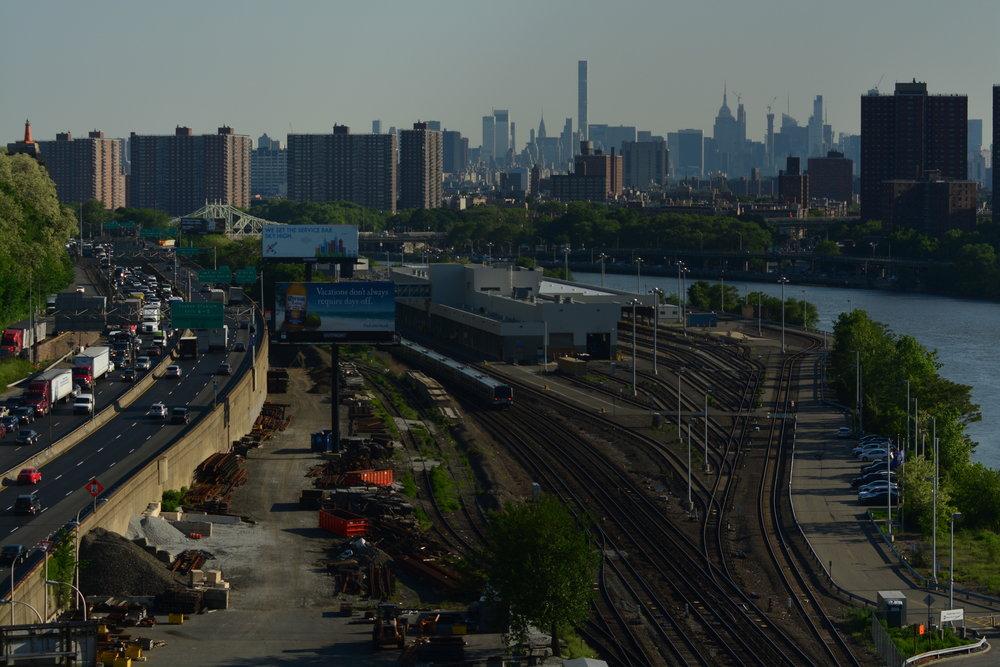I87 Major Deegan // NYC Skyline // Harlem River
