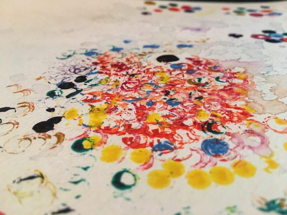 Painting // Fruit Loops