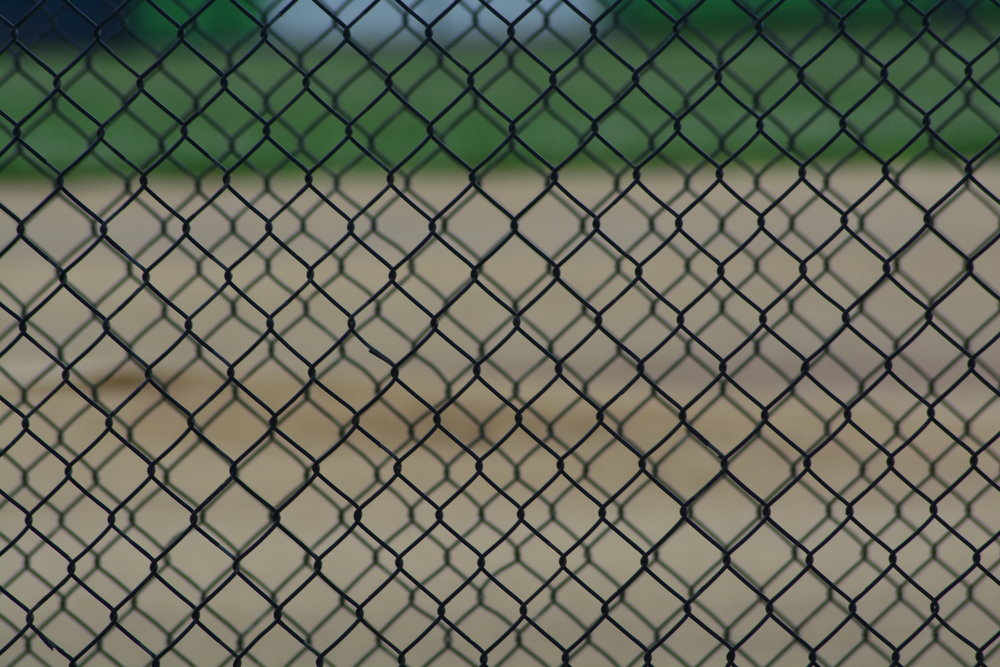 Chain Link Baseball Diamond // Randalls Island 2