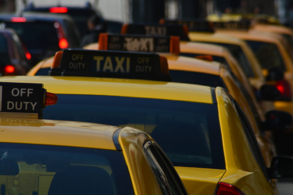 Taxi Queue on New Main, Yonkers