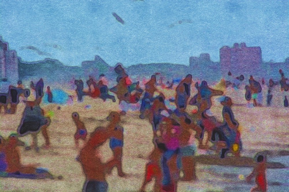 Seurat at Coney Island