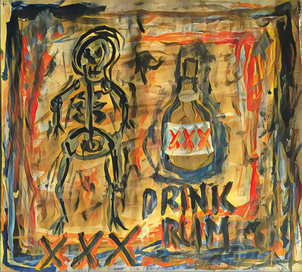 DrinK Rum, color