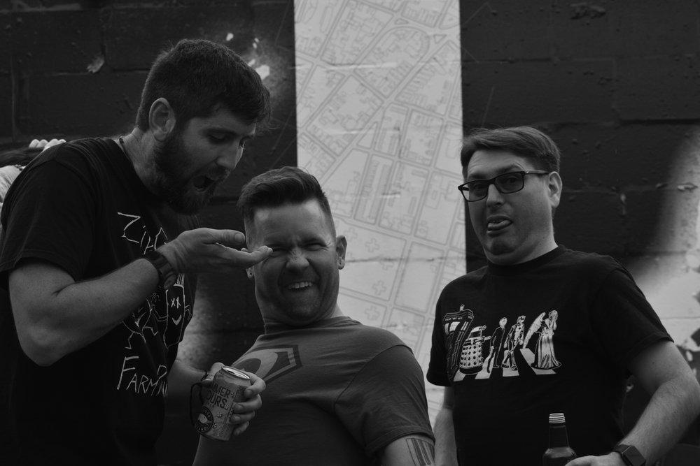 Matty Killmiester Band Offstage
