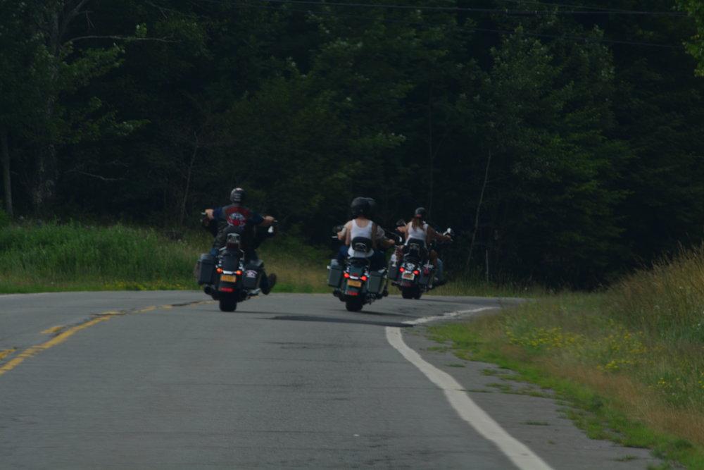 Catskills Motorcycles Gangs
