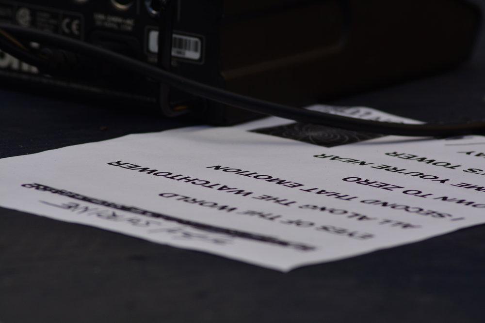 JBB Set List