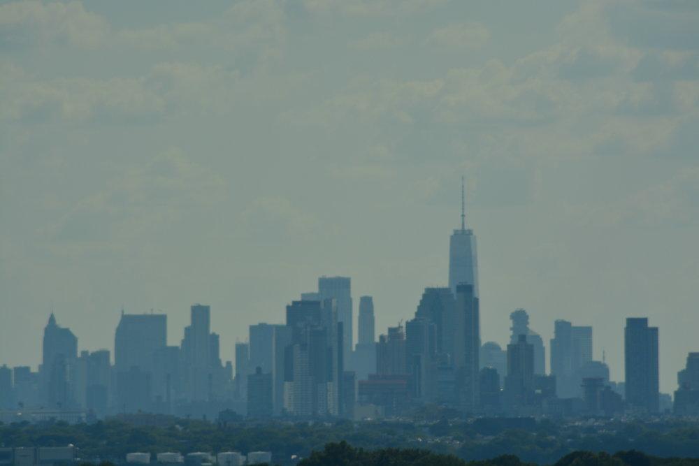 Downtown Manhattan from the Whitestone Bridge