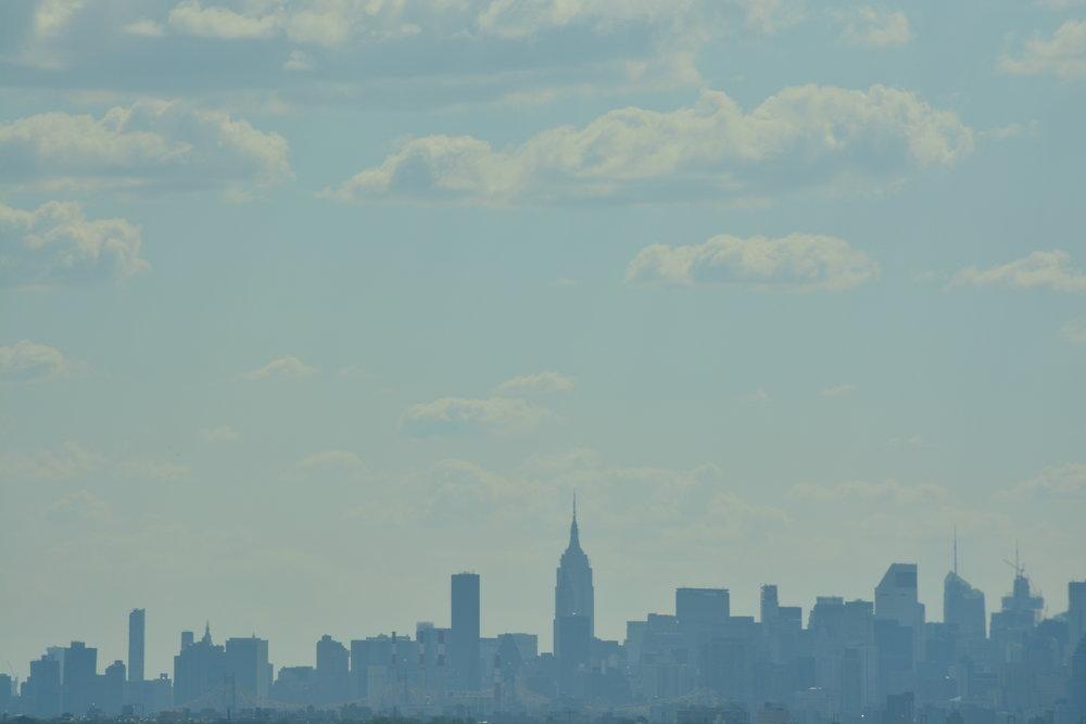 Mid Town Manhattan from the Whitestone Bridge
