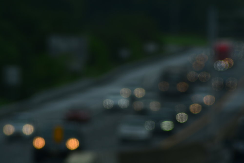Oncoming Traffic Abstracta // i87 North