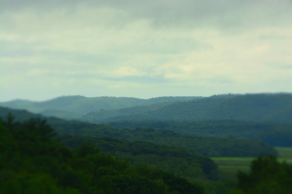 Catskill Mountains from Rte. 17