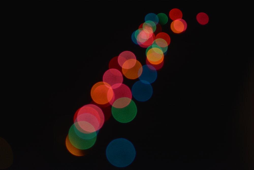 Christmas Lights Abstracta