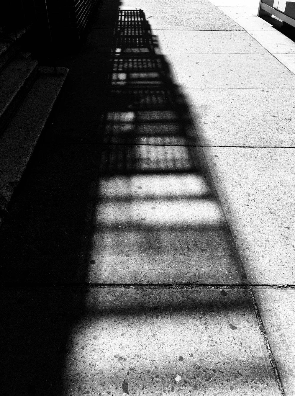 Fire Escape Shadow
