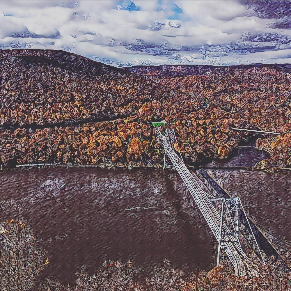 Bear Mountain Bridge from Anthony's Nose