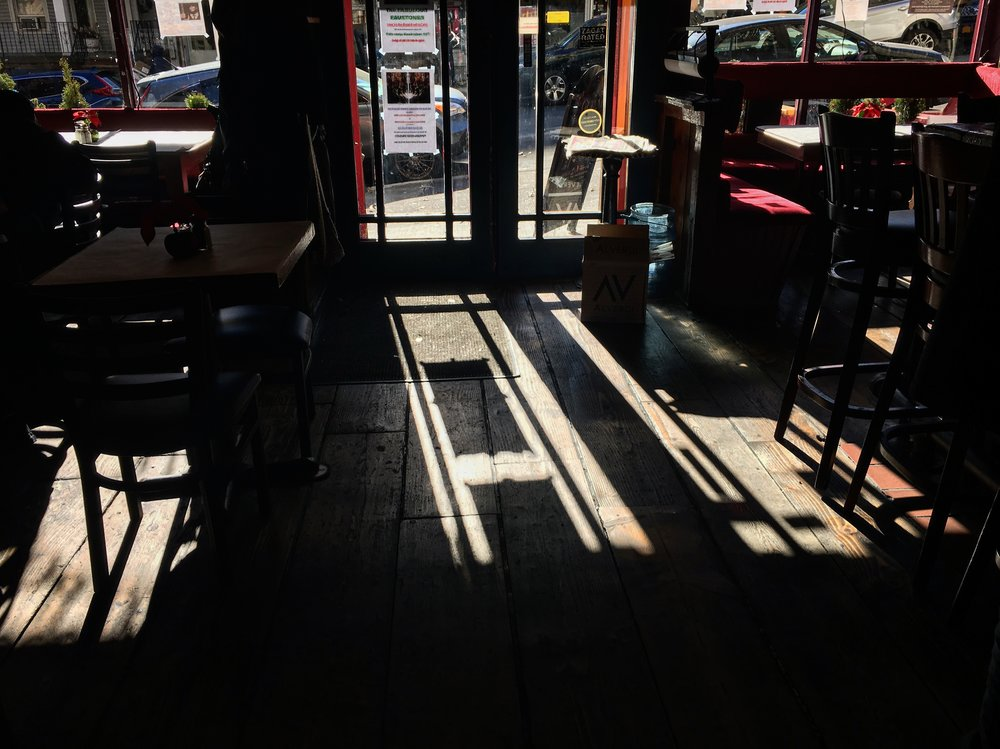Afternoon Sun at An Beal Bocht Cafe