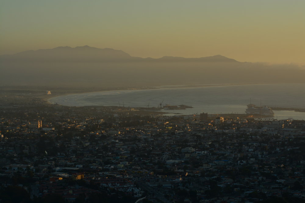 Ensenada at Sunset