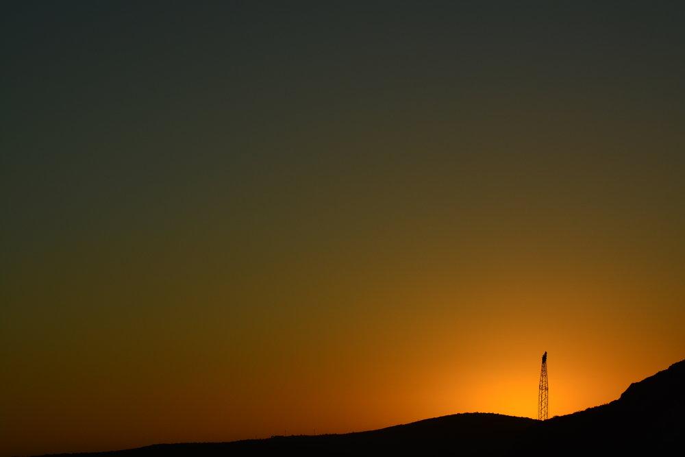 Crane & Sun