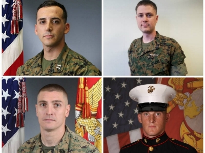 SAN DIEGO, CA – Military officials have identified four Miramar-based Marines killed in a helicopter crash during a training mission this week in Imperial County.  Capt. Samuel A. Schultz, 28, of Huntingdon Valley, Pennsylvania; First Lt. Samuel D. Phillips, 27, of Pinehurst, North Carolina; Gunnery Sgt. Richard Holley, 33, of Dayton, Ohio; and Lance Cpl. Taylor J. Conrad, 24, of Baton Rouge, Louisiana, were aboard a CH-53E Super Stallion helicopter when it crashed around 2:35 p.m. Tuesday near El Centro, according to Marine Corps officials.  The Marines were from Marine Heavy Helicopter Squadron 465, Marine Aircraft Group 16, 3rd Marine Aircraft Wing, based out of Marine Corps Air Station Miramar in San Diego.