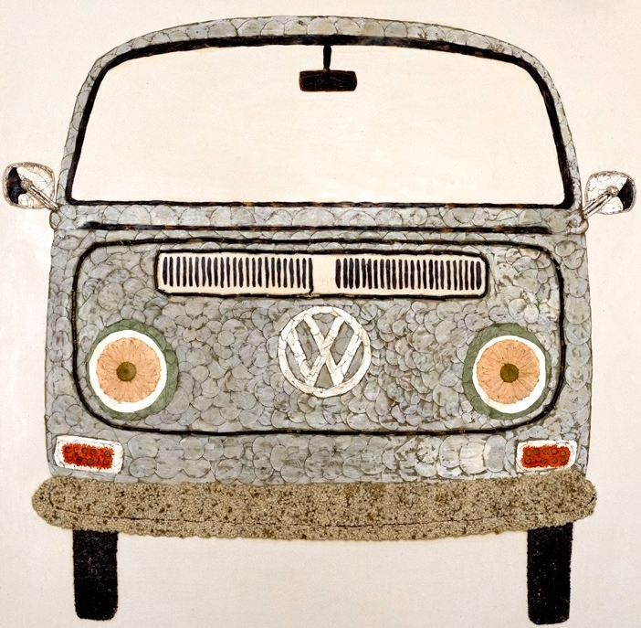 """Cotton"" the VW Bus"